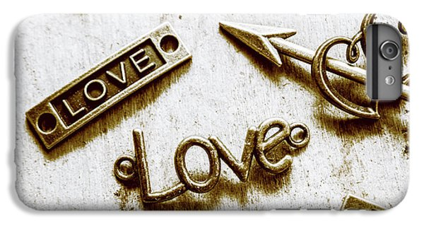 Pendant iPhone 6s Plus Case - Retro Love Heart Jewels  by Jorgo Photography - Wall Art Gallery