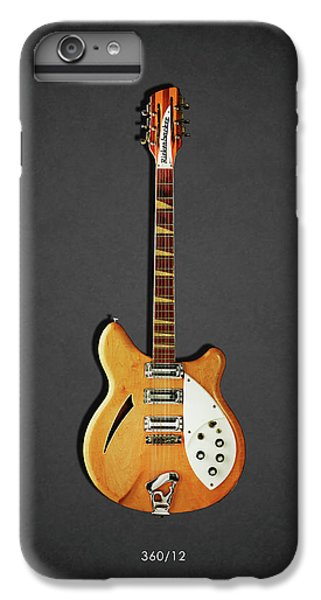 Guitar iPhone 6s Plus Case - Rickenbacker 360 12 1964 by Mark Rogan