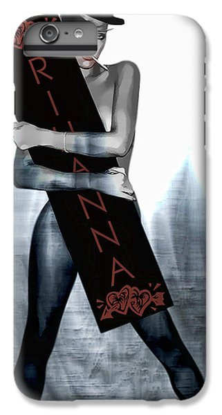 Rihanna Love Card By Gbs IPhone 6s Plus Case by Anibal Diaz