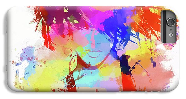 Rihanna Paint Splatter IPhone 6s Plus Case by Dan Sproul