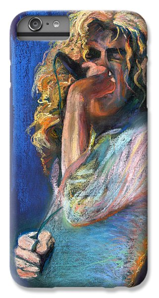 Musicians iPhone 6s Plus Case - Robert Plant by Laurie VanBalen