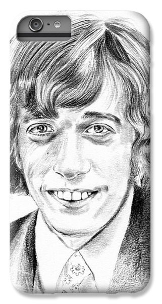 U2 iPhone 6s Plus Case - Robin Gibb Drawing by Suzann's Art