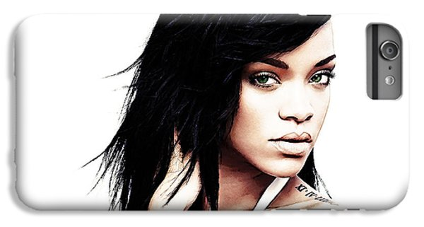 Robyn Rihanna Fenty IPhone 6s Plus Case by The DigArtisT