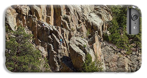 IPhone 6s Plus Case featuring the photograph Rock Climbers Paradise by James BO Insogna