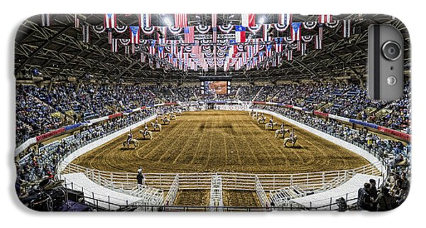 Bunting iPhone 6s Plus Case - Rodeo Time In Texas by Stephen Stookey