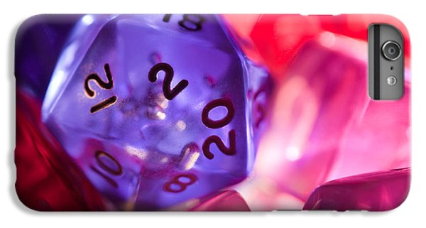 Role-playing D20 Dice IPhone 6s Plus Case by Marc Garrido