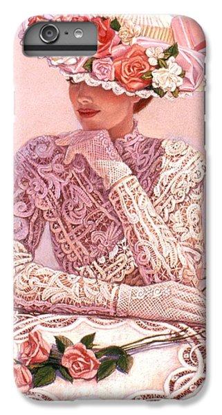Rose iPhone 6s Plus Case - Romantic Lady by Sue Halstenberg
