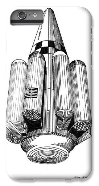 Rombus Heavey Lift Reusable Rocket IPhone 6s Plus Case