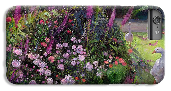 Rose Bed And Geese IPhone 6s Plus Case by Timothy Easton