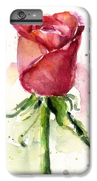 Rose Watercolor IPhone 6s Plus Case