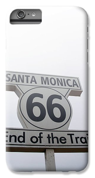 Route 66 Santa Monica- By Linda Woods IPhone 6s Plus Case