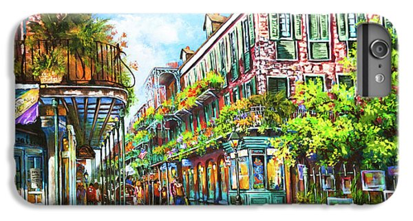 Town iPhone 6s Plus Case - Royal At Pere Antoine Alley, New Orleans French Quarter by Dianne Parks