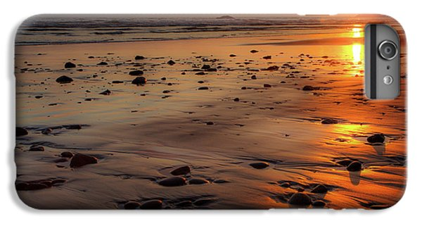 IPhone 6s Plus Case featuring the photograph Ruby Beach Sunset by David Chandler