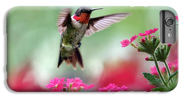 Ruby Garden Jewel IPhone 6s Plus Case by Christina Rollo