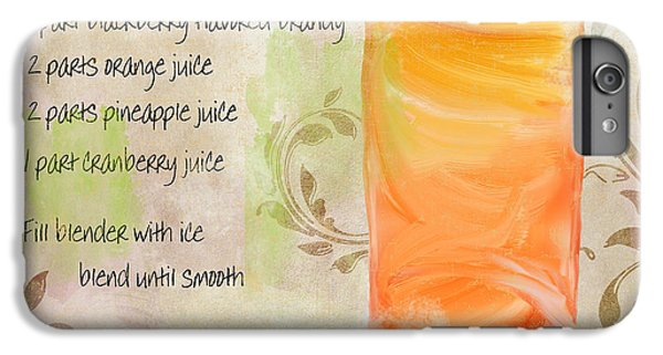 Rum Runner Mixed Cocktail Recipe Sign IPhone 6s Plus Case by Mindy Sommers