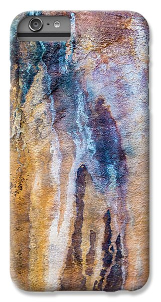 IPhone 6s Plus Case featuring the photograph Runoff Abstract, Bhimbetka, 2016 by Hitendra SINKAR
