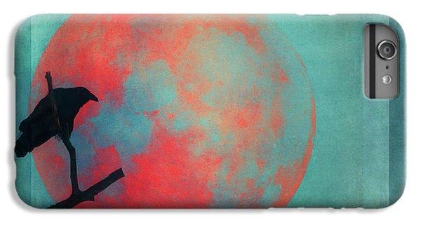 Blackbird iPhone 6s Plus Case - Rust Moon by Priska Wettstein