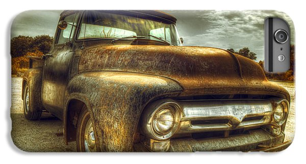 Truck iPhone 6s Plus Case - Rusty Truck by Mal Bray