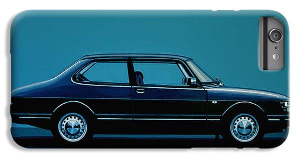 Car iPhone 6s Plus Case - Saab 90 1985 Painting by Paul Meijering