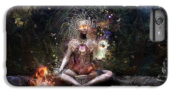 Drum iPhone 6s Plus Case - Sacrament For The Sacred Dreamers by Cameron Gray