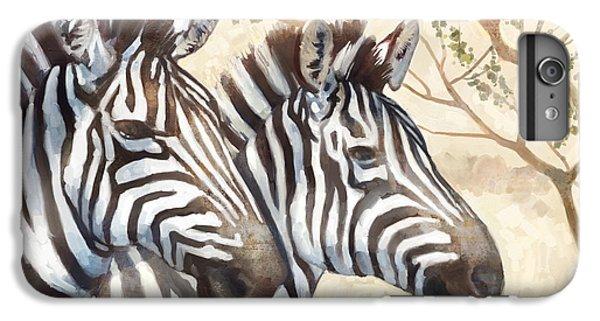 Zebra iPhone 6s Plus Case - Safari Sunrise by Mauro DeVereaux