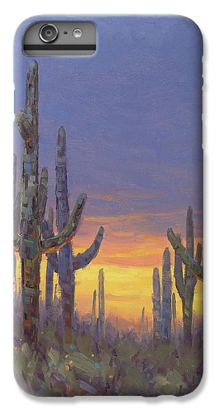 Grand Canyon iPhone 6s Plus Case - Saguaro Mosaic by Cody DeLong