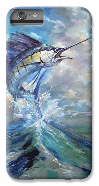 Swordfish iPhone 6s Plus Case - Sailfish And Frigate by Tom Dauria