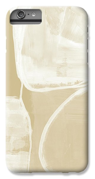 Camel iPhone 6s Plus Case - Sand And Stone 5- Contemporary Abstract Art By Linda Woods by Linda Woods