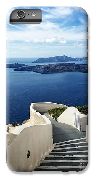 Greece iPhone 6s Plus Case - Santorini by HD Connelly