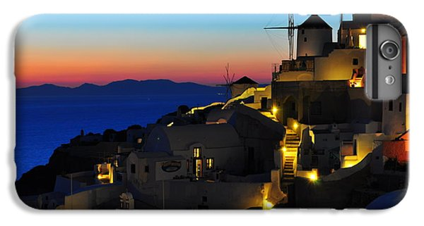 Greece iPhone 6s Plus Case - Santorini Sunset by Ian Stotesbury
