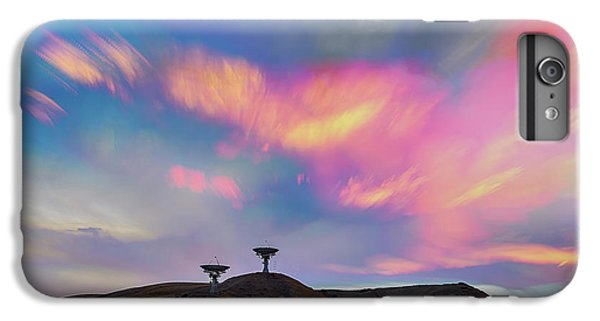 IPhone 6s Plus Case featuring the photograph Satellite Dishes Quiet Communications To The Skies by James BO Insogna