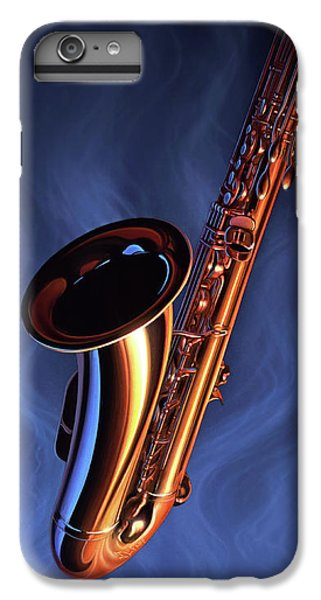 Saxophone iPhone 6s Plus Case - Sax Appeal by Jerry LoFaro