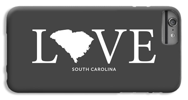 Clemson iPhone 6s Plus Case - Sc Love by Nancy Ingersoll