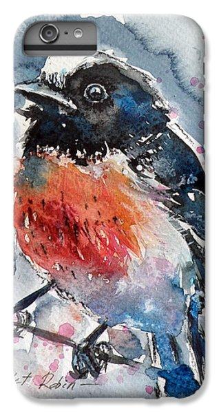 Scarlet iPhone 6s Plus Case - Scarlet Robin by Kovacs Anna Brigitta