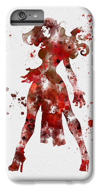 Scarlet iPhone 6s Plus Case - Scarlet Witch by My Inspiration