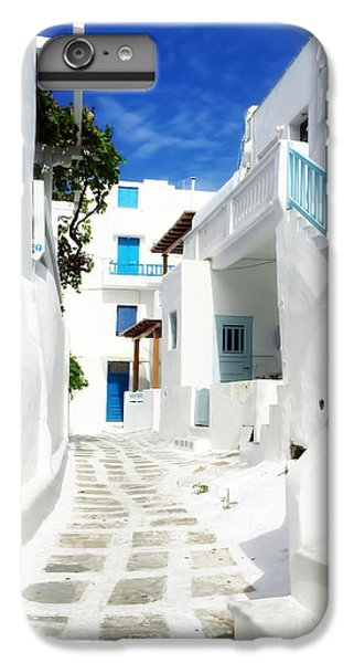 Greece iPhone 6s Plus Case - Scenic Mykonos by HD Connelly