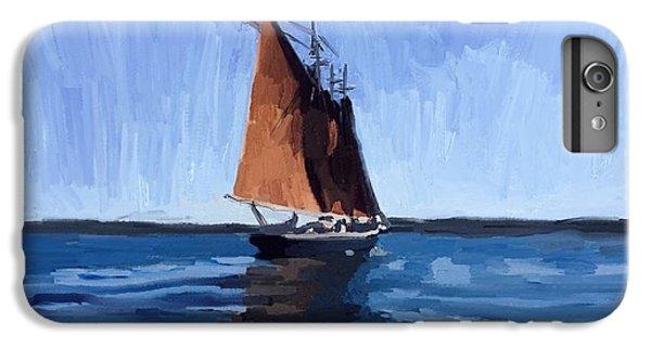 Schooner Roseway In Gloucester Harbor IPhone 6s Plus Case by Melissa Abbott
