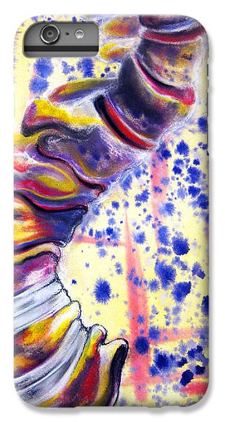 Spines iPhone 6s Plus Case - Scoliosis by Emma Craig
