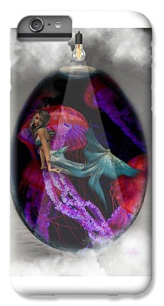 Sea Creature Mermaid Jellyfish Art IPhone 6s Plus Case