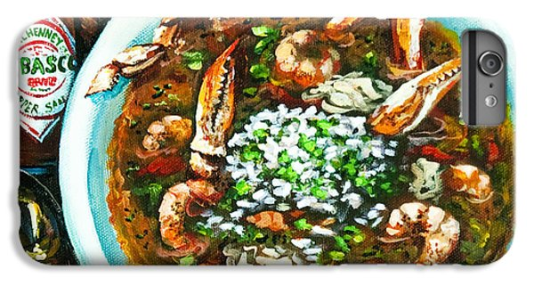 Food And Beverage iPhone 6s Plus Case - Seafood Gumbo by Dianne Parks
