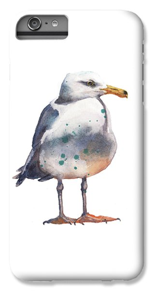 Seagull Print IPhone 6s Plus Case by Alison Fennell