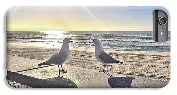 Seagull iPhone 6s Plus Case - Seagull Sonnet  by Az Jackson