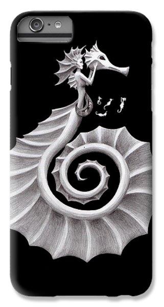 Seahorse Siren IPhone 6s Plus Case by Sarah Krafft