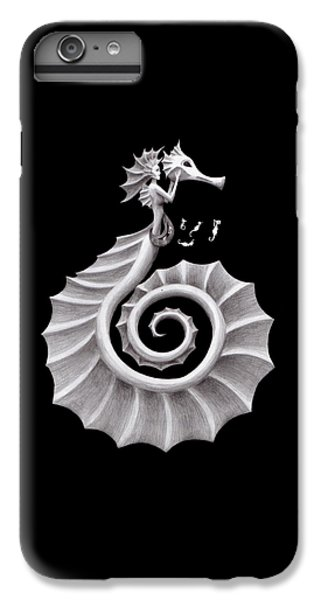 Seahorse Siren IPhone 6s Plus Case by Sarah Krafft