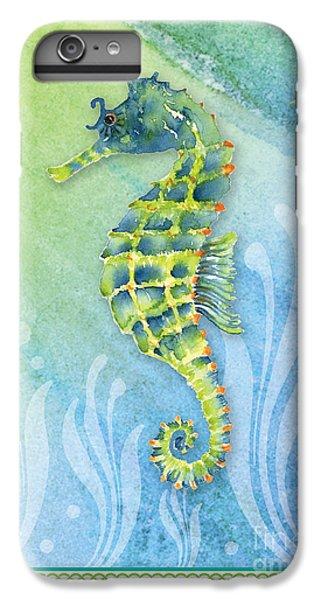 Seahorse Blue Green IPhone 6s Plus Case