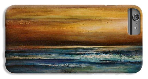 Ocean Sunset iPhone 6s Plus Case - Seascape 1 by Michael Lang