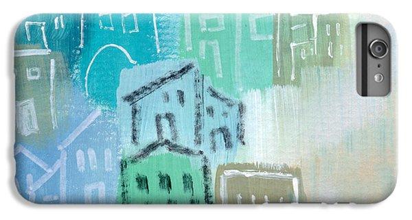 Town iPhone 6s Plus Case - Seaside City- Art By Linda Woods by Linda Woods