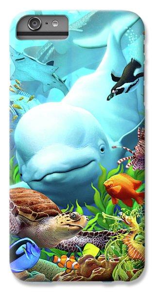 Penguin iPhone 6s Plus Case - Seavilians 2 by Jerry LoFaro