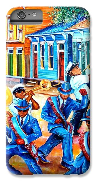 Trombone iPhone 6s Plus Case - Second Line In Treme by Diane Millsap