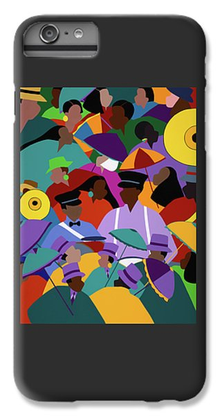 iPhone 6s Plus Case - Second Line New Orleans by Synthia SAINT JAMES